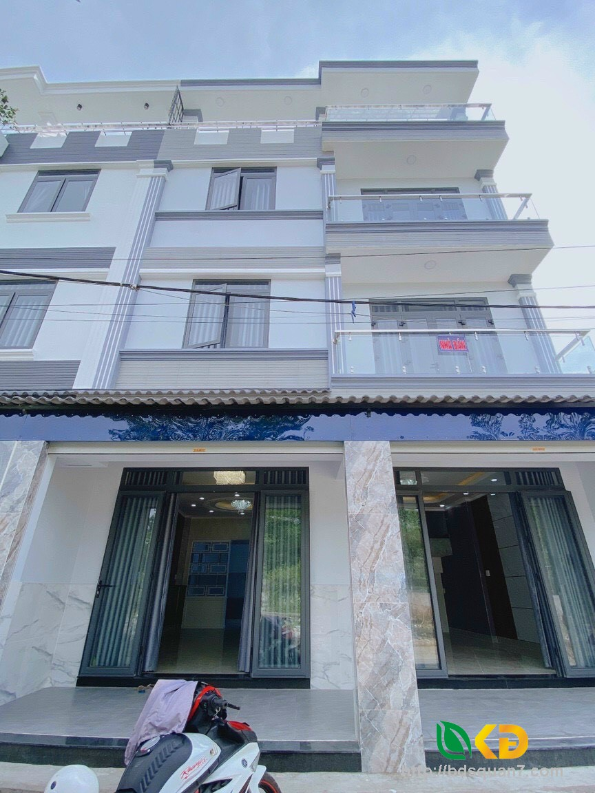 Nhà đẹp vừa hoàn thiện khu dân cư cao cấp Peterchim Huỳnh Tấn Phát, Phú Xuân, Nhà Bè.