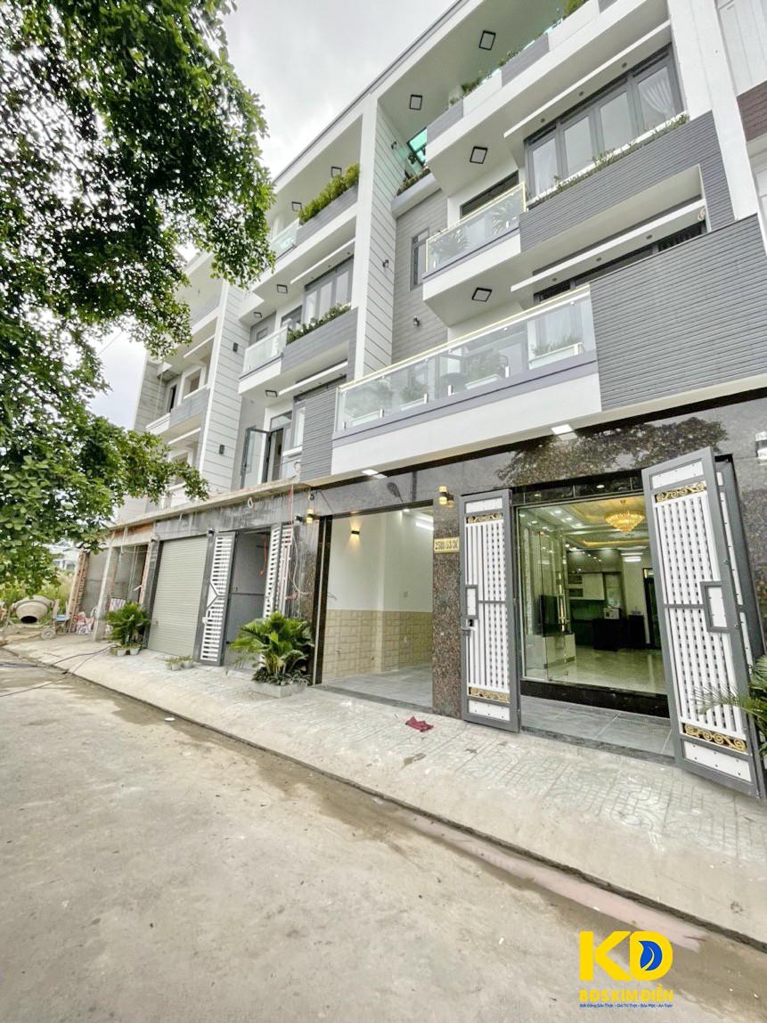 Bán nhà đẹp mới xây đường N9 nối dài liền kề khu dân cư Anh Tuấn Huỳnh Tấn Phát Nhà Bè