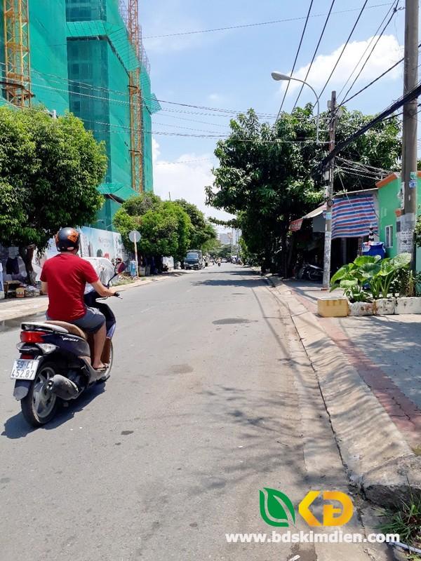 Cho thuê nhà mặt tiền đường Bùi Văn Ba Phường Tân Thuận Đông Quận 7.