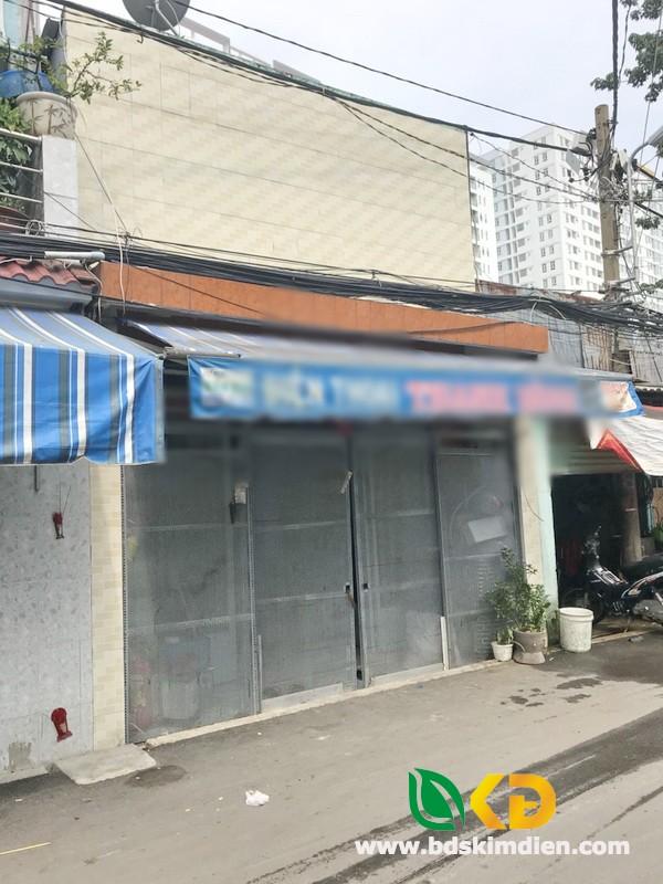 Bán nhà mặt tiền hẻm 1041 đường Trần xuân Soạn Phường Tân Hưng Quận 7.