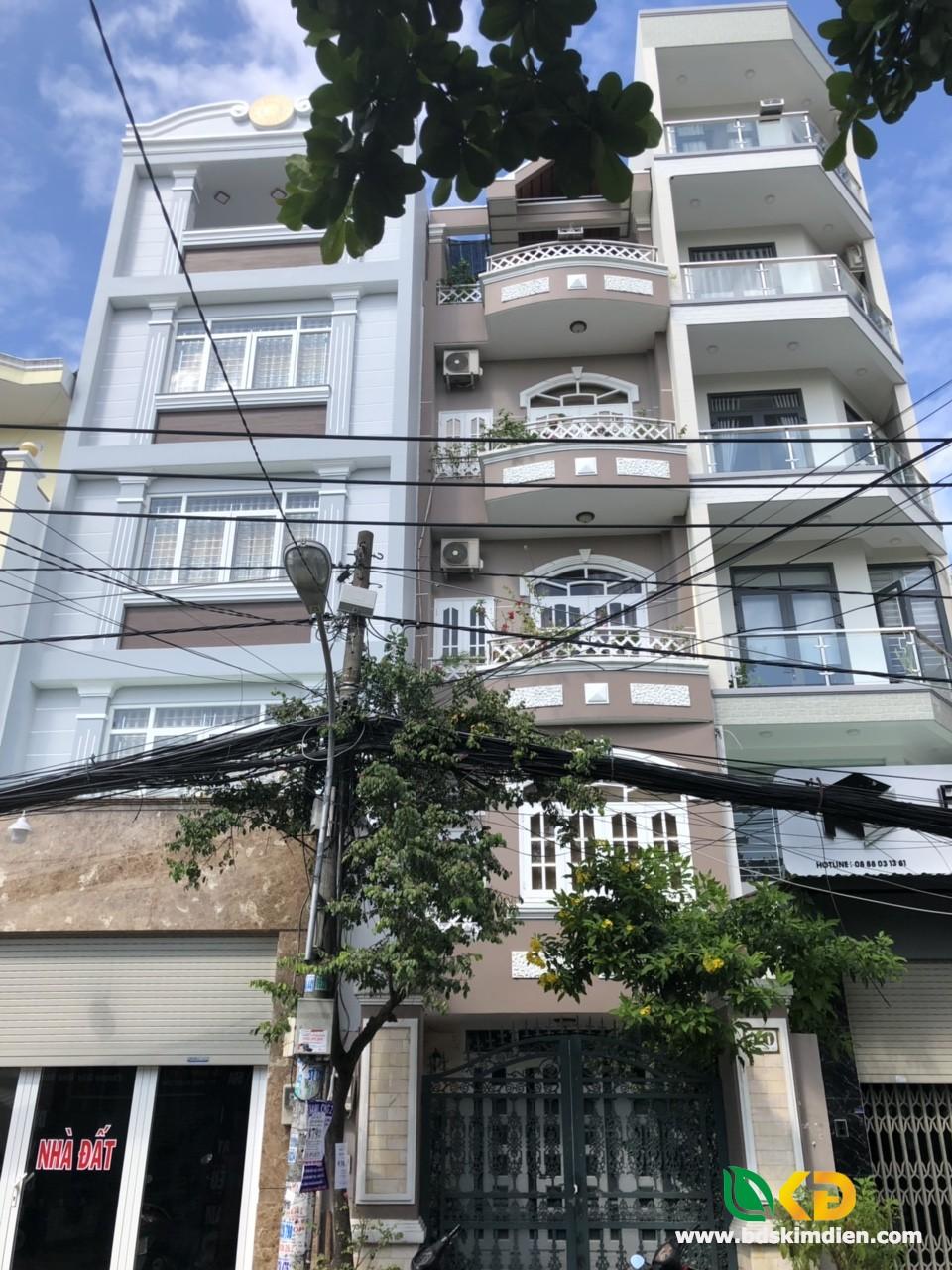 Cho thuê nhà 4 lầu mặt tiền Mai Văn Vĩnh phường Tân Quy Q7.