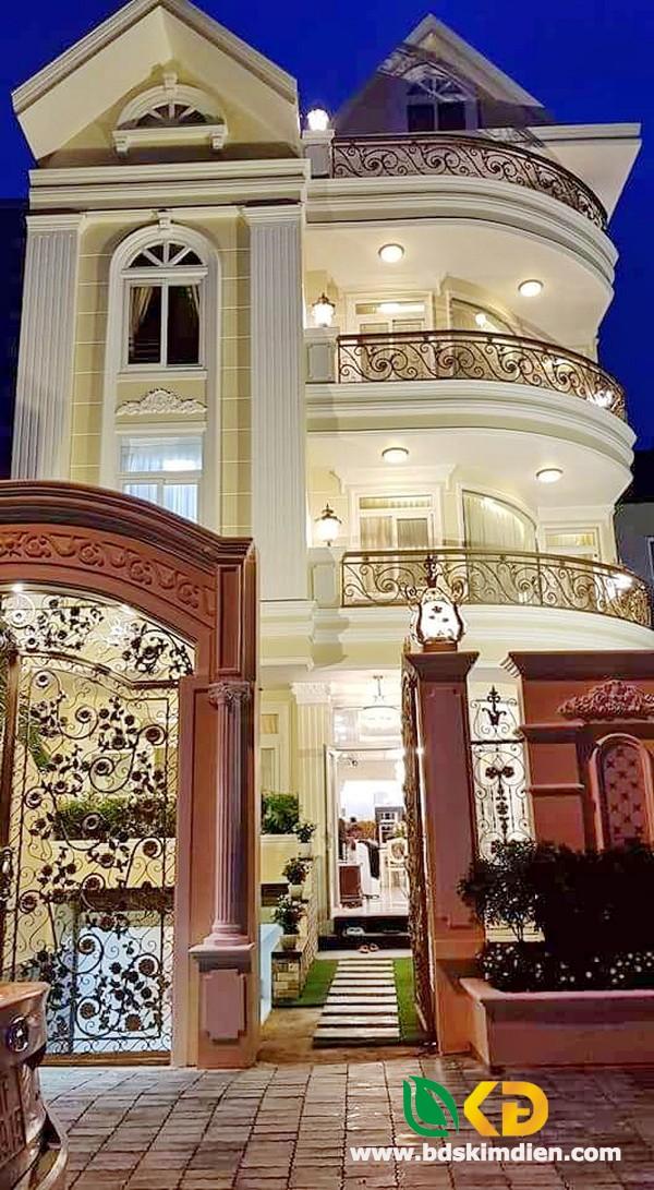 Bán biệt thự đẹp 3 lầu khu Tấn Trường phường Phú Thuận Quận 7