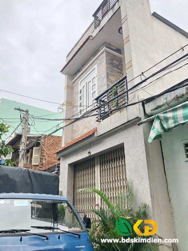 Bán nhà 1 lầu hẻm xe hơi Đường số 14-Lê Văn Quới quận Bình Tân