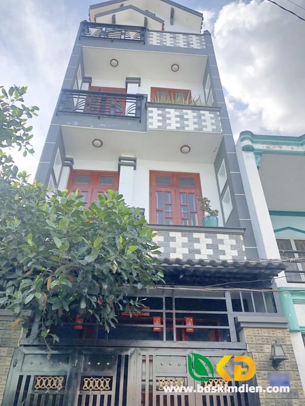 Bán nhà đẹp 2 lầu hẻm xe hơi 205 Đất Mới quận Bình Tân