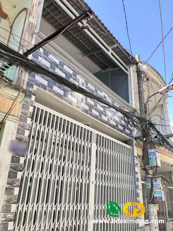 Bán nhà 1 lầu hẻm xe hơi 168 Đất Mới quận Bình Tân