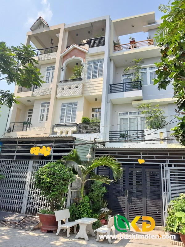 Cho thuê nhà nguyên căn 2 lầu  mặt tiền Phú Thuận Quận 7