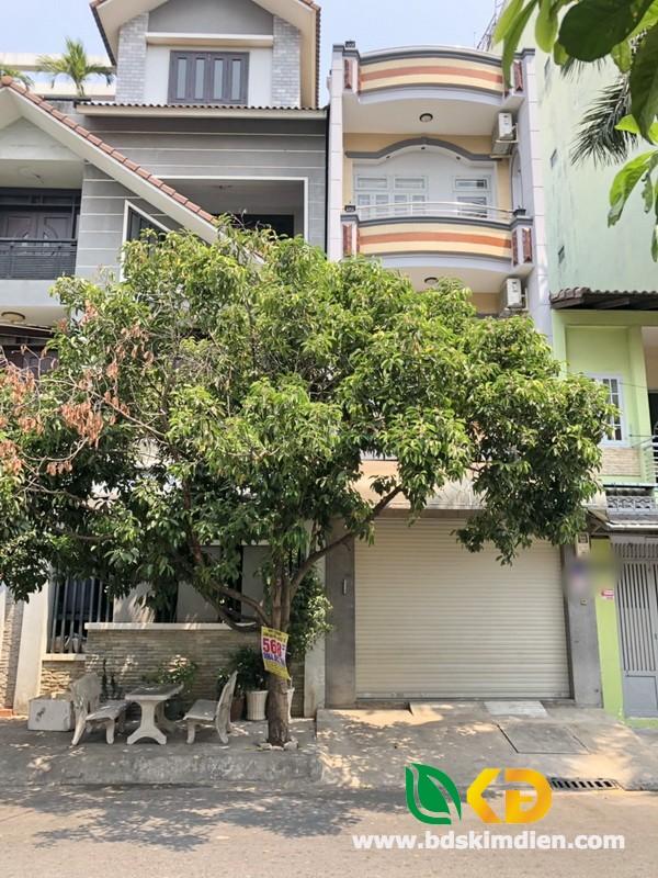Cho thuê nhà 2 lầu mặt tiền Phan Huy Thực Quận 7
