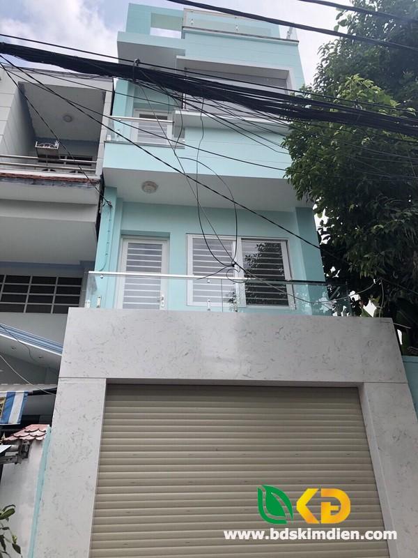 Cho thuê nhà 2 lầu mặt tiền Đường 23 phường Tân Quy Quận 7