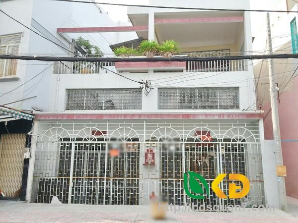 Bán nhà 1 lầu mặt tiền Đường Ưu Long quận 8.