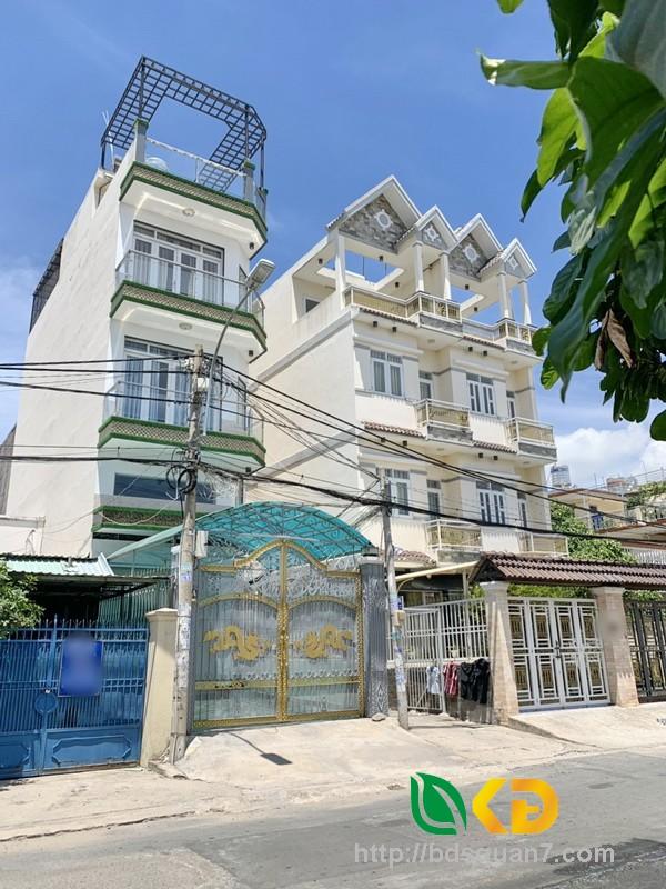 Bán nhà 1 lửng, 2 lầu mặt tiền Dương Cát Lợi (khu VIP) huyện Nhà Bè