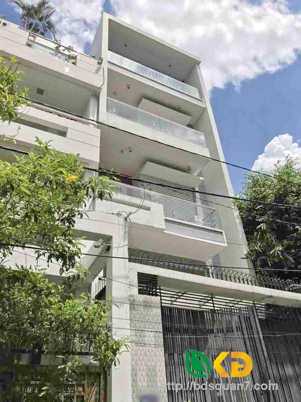 Bán nhà đẹp 1 lửng, 3 lầu mặt tiền Đường số 79 phường Tân Quy Quận 7