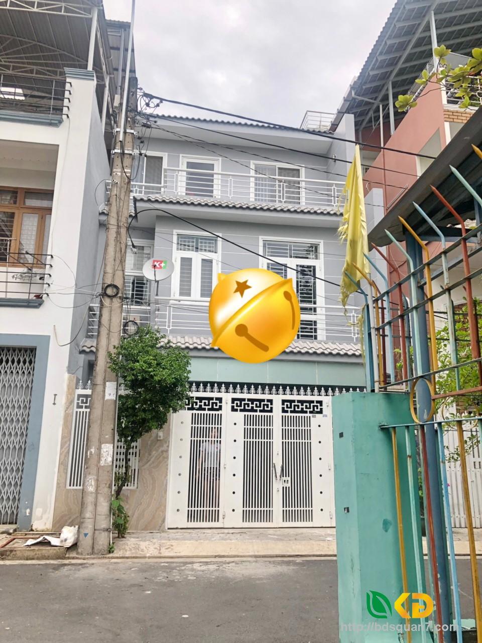 Bán nhà mới 3 lầu mặt tiền Đường số 71 phường Tân Quy Đông Quận 7