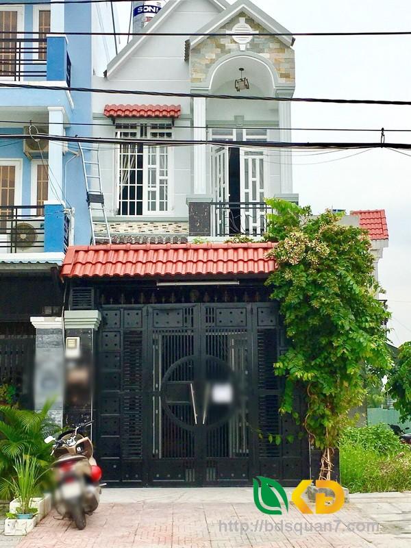 Bán nhà 1 lầu đẹp mặt tiền Đào Tông Nguyên Nhà Bè.