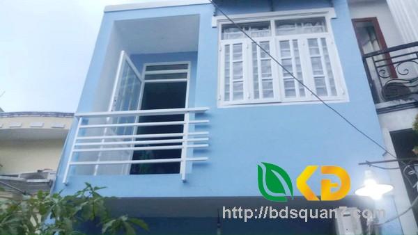 Bán nhà 1 lầu đẹp hẻm 1135 Huỳnh Tấn Phát quận 7.