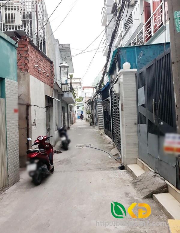Bán nhà 1 lầu hẻm 36 Phạm Hữu Lầu quận 7.