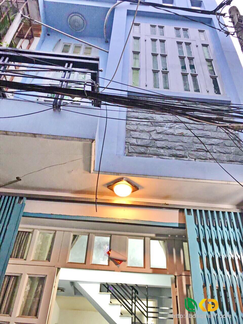 Bán nhà 1 lầu đúc hẻm xe hơi 30 Lâm Văn Bền phường Tân Kiểng Quận 7