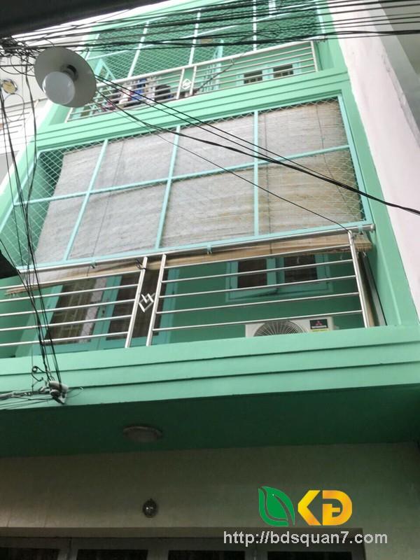 Bán gấp nhà 3 tầng đẹp hẻm 3m 1716 Huỳnh Tấn Phát Nhà Bè.