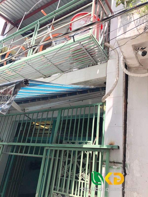 Bán nhà 2.5 tầng hẻm 88 Nguyễn Văn Quỳ quận 7.