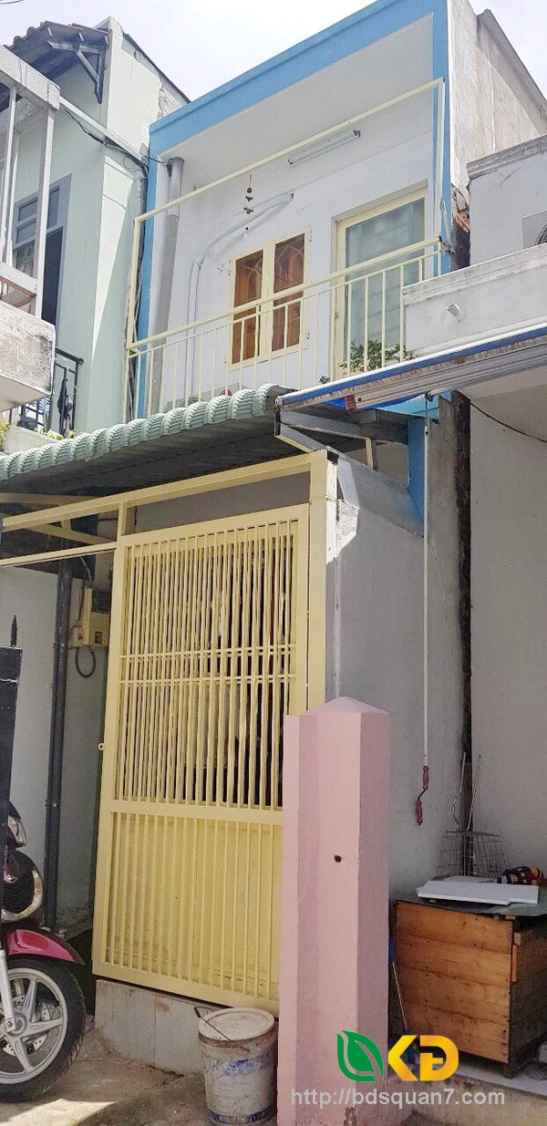 Bán nhà 2 tầng hẻm 226 Nguyễn Bình Nhà Bè.