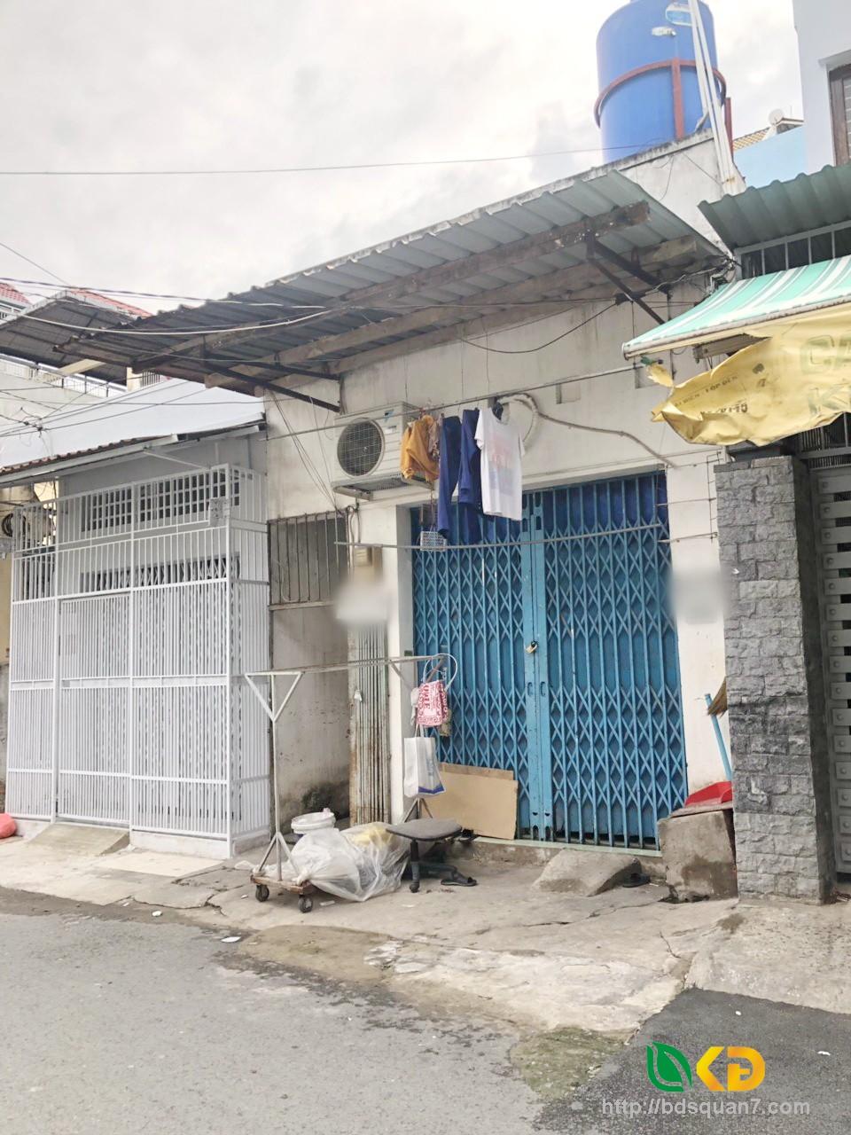 Bán nhà hẻm xe hơi 5m 502 Huỳnh Tấn Phát Quận 7