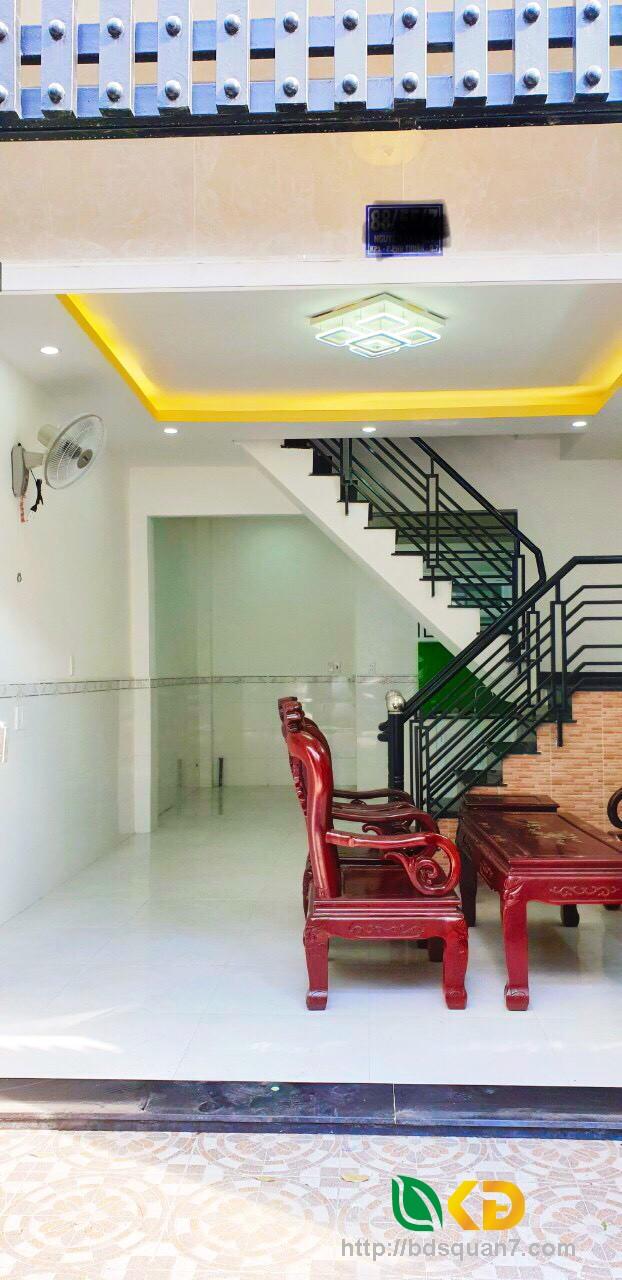 Bán nhà mới 1 lầu hẻm 88 Nguyễn Văn Quỳ phường Phú Thuận Quận 7
