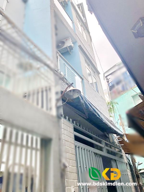 Bán nhà 2 lầu hẻm 119C đường Nguyễn Thị Tần Phường 2 Quận 8