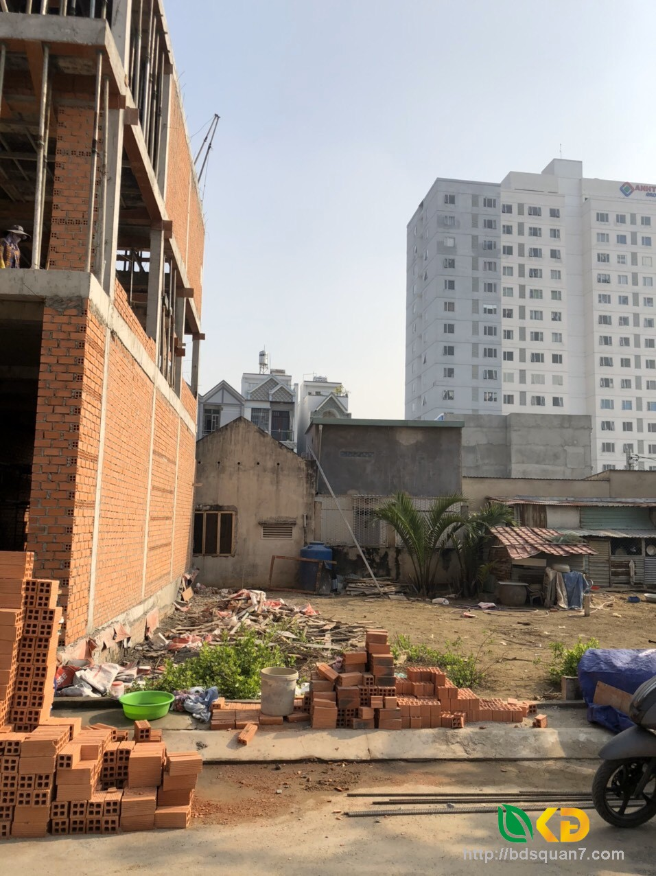 Bán lô đất hẻm xe hơi 2581 Huỳnh Tấn Phát huyện Nhà Bè