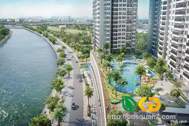Bán căn hộ cao cấp 150m2 The View Riviera Piont Quận 7