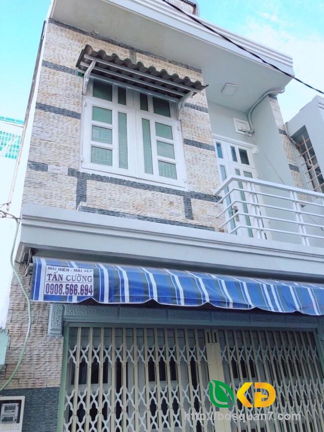 Bán nhà 1 lầu đúc hẻm xe hơi 88 đường Nguyễn Văn Quỳ Quận 7.