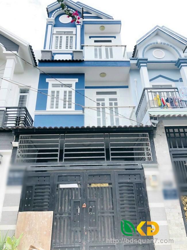 Bán nhà đẹp giá thơm 3 lầu  hẻm 1982 đường Huỳnh Tấn Phát Huyện Nhà Bè