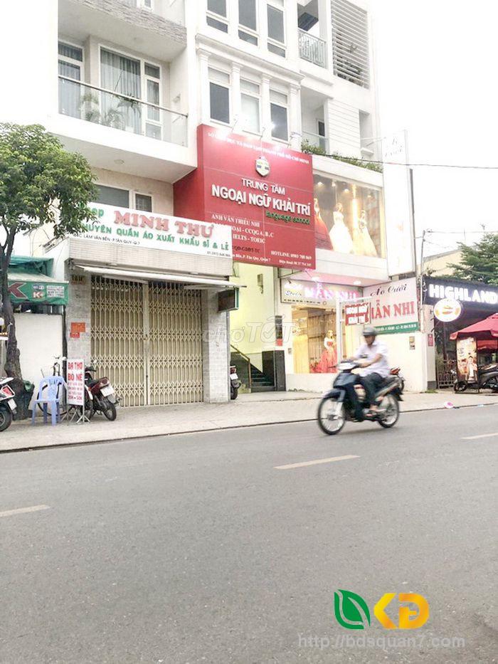 Bán nhà đẹp 3 lầu mặt tiền kinh doanh đường Lâm Văn Bền Quận 7.